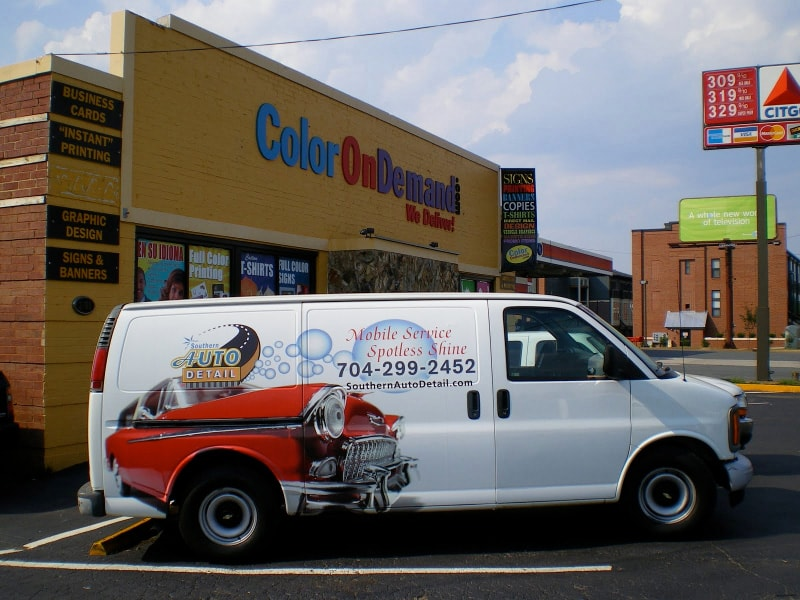 Vehicle And Car Wrap Gallery Boston Ma Kranken Signs